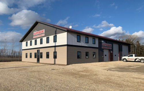 Superior Seamless Exteriors Ltd. - Winkler, Manitoba - Head Office